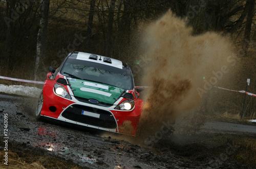 Staande foto Motorsport Rally