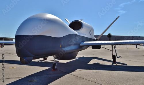 Foto op Aluminium Vliegtuig Military Surveillance Drone