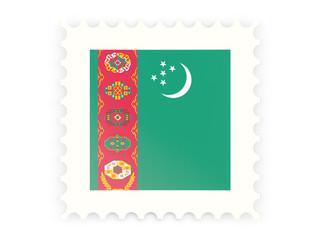 Postage stamp icon of turkmenistan