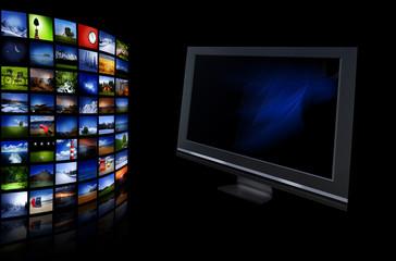 Media Bildschirm