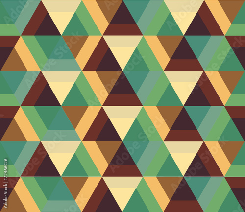 Spoed canvasdoek 2cm dik Kunstmatig Geometric background