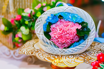 Flower decoration for weddings
