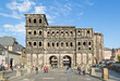 Porta Nigra in Trier on a beautiful day - 72469634