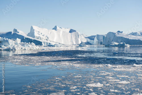 Fotobehang Antarctica 2 Beautiful Iceberg