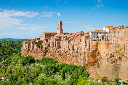 Fototapety, obrazy : Old town Pitigliano Tuscany Italy