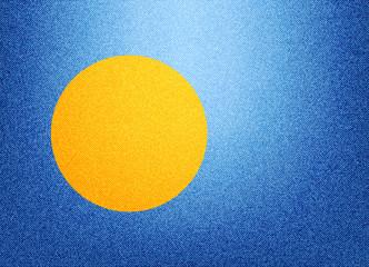 Denim Palau flag