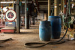 Industrial interior with chemical tanks - 72476288