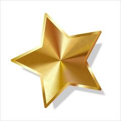 Goldener Stern Adventsstern