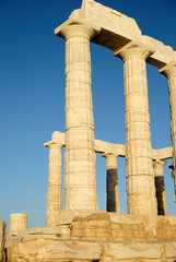 The Temple of Poseidon at Sounion out of Athens