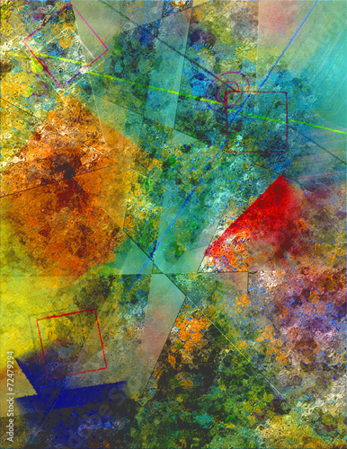 Obraz Abstract