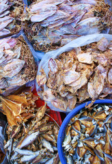 Dried shredded squid, seafood product