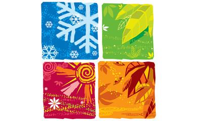 Seasons in squares