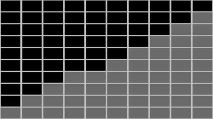 100個のモニター画面・RGBA・オーバーレイ用映像素材_2D