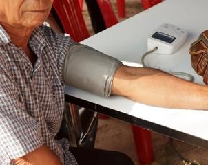 Doctors blood pressure patients