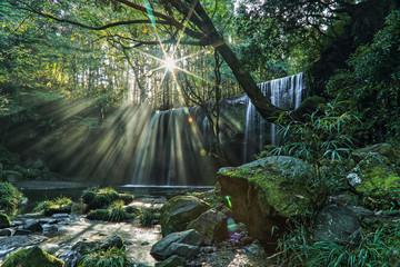 光芒鍋ヶ滝