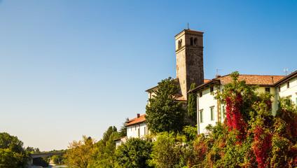 From the Devil's bridge of Cividale del Friuli