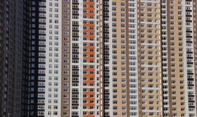 large apartment complex