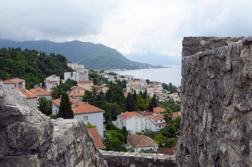 View at the Herceg Novi, Montenegro