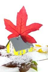 Wärmedämmung am Haus