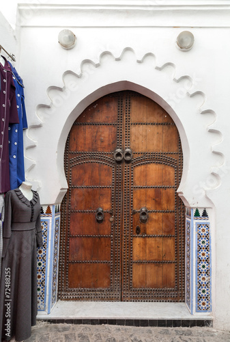 Gate in Tetuan in Morocco