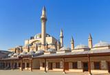 Mevlana museum mosque poster