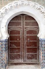 Gate in Tetuan in Morocco