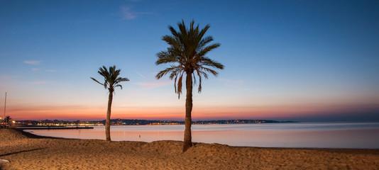 Lever de soleil sur la Côte d'Azur - Sunrise