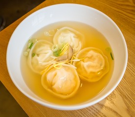 Korean soup dumplings