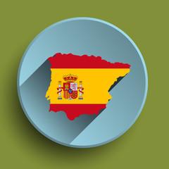 Spain flat icon
