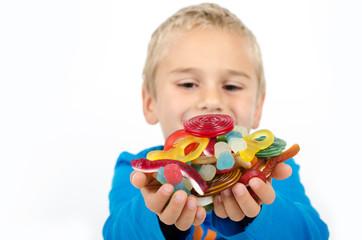 Süßigkeiten naschen