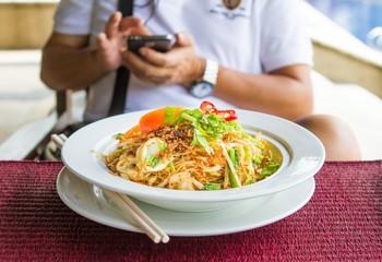 Stir-fry noodles