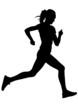 Run sports woman