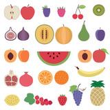 Fruit icons set 1 - 72492295
