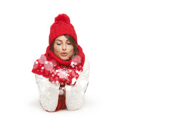 Winter, christmas, holidays concept
