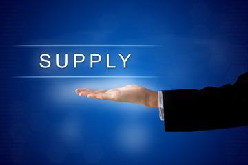 supply button on virtual screen