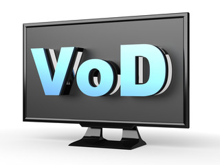 TV with VOD (Video on Demand)