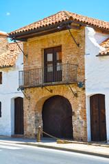 Plaza de Toros de Almadén, siglo XVIII, puerta principal
