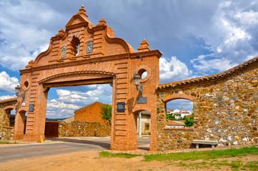 Almadenejos, Puerta de Almadén, Ciudad Real