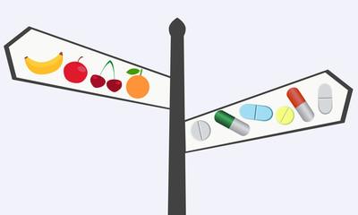 Choosing between vitamins