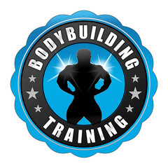 bbb3 BodyBuildingButton - fnb - Bodybuilding - blau - g2399
