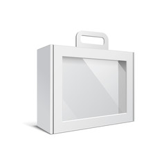 Carton Or Plastic White Blank Package Box
