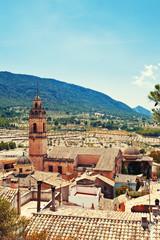 Spain old town Biar
