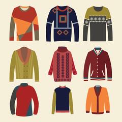 Men's sweaters - Illustration