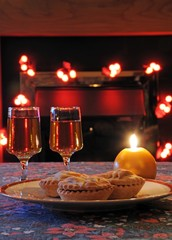 Mince pies and sherry © Arena Photo UK