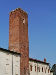 Medieval tower used as prison for burglars in Vicenza