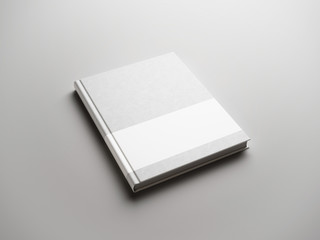 light book with white strip