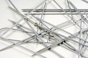 Assorted knitting needles © Arena Photo UK