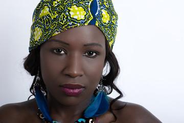 Frauenporträt Afrikanerin