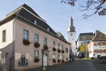 Altes Rathaus in Arnsberg, Sauerland, NRW, Deutschland