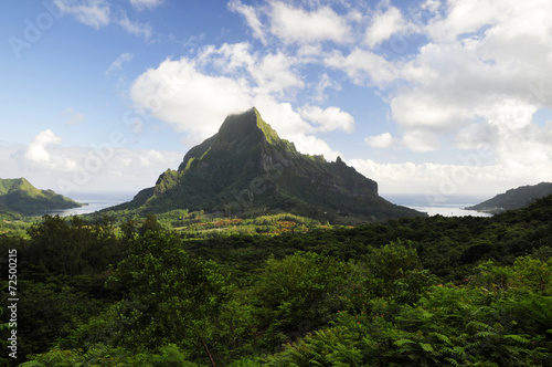 canvas print picture Moorea